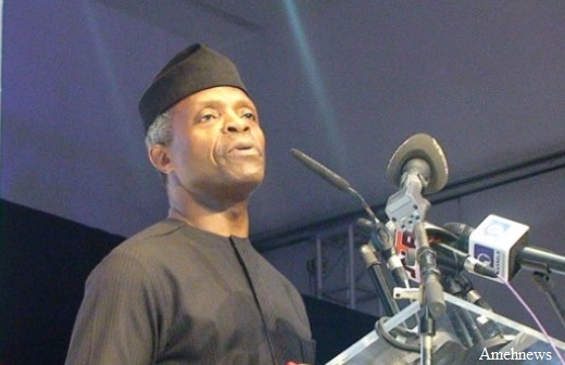 Atiku's concept of restructuring vague, leaves out corruption – Osinbajo