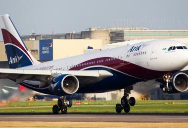 Arik Air plane makes emergency landing in Ghana