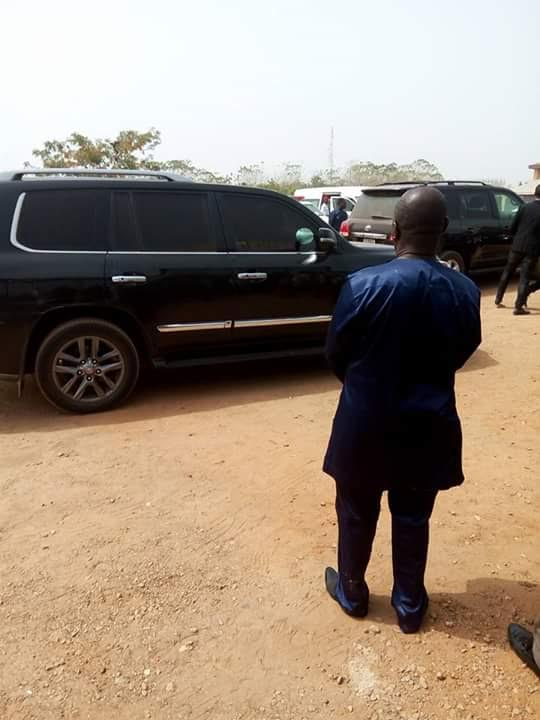 Apostle Johnson Suleman on his way to DSS Hdqs [PHOTOS]