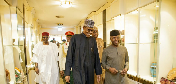 [Updated] Osinbajo to continue as acting president – Buhari