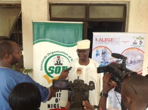 """SON Takes Its Campaign """"Drink Quality Water; Certified By MANCAP Certification"""" To North East Nigeria"""