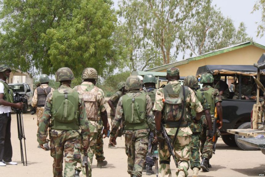 Eight held as army foils Boko Haram bid to attack Lagos