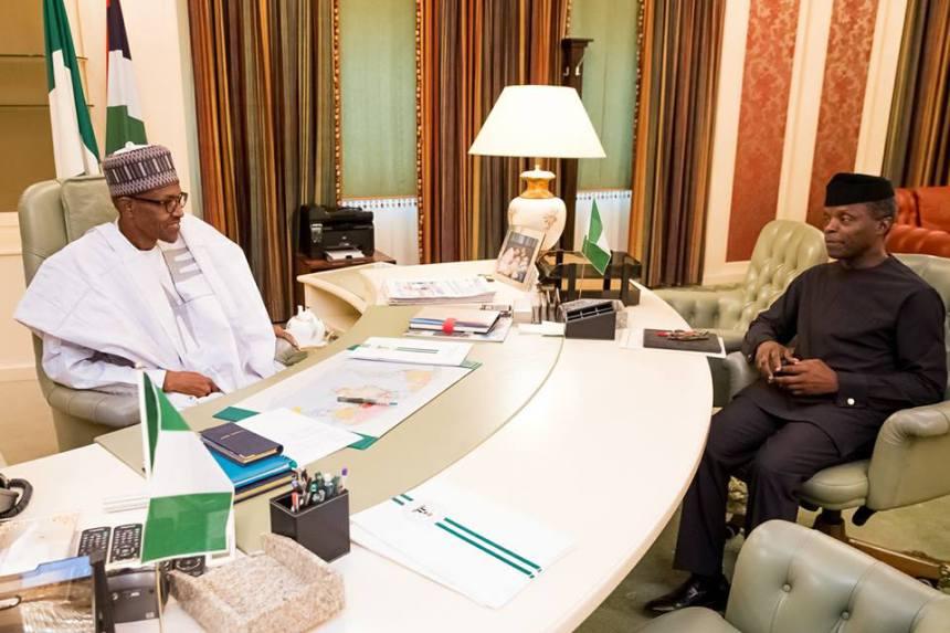 Buhari treats me like a son – Osinbajo