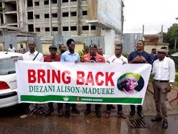 OurMumuDonDo protesters storm EFCC, ask FG to repatriate Diezani