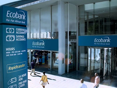 Ecobank Group grows Net Profit by 21% to close at NGN37.7bn from NGN 31.1bn in six months of 2017
