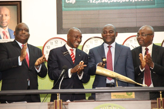 Nigerian Stock Exchange market capitalization down by N352bn
