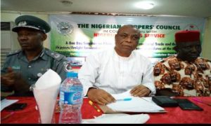 Shippers' Council Urges All Stakeholders in Maritime to be honest in Customs Clearance Procedures