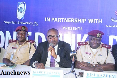 NB/FRSC FLAG OFF 10TH DON'T DRINK AND DRIVE CAMPAIGN