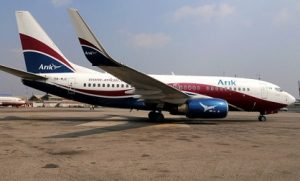 SAHCOL equipment bumps into Arik aircraft at Lagos airport