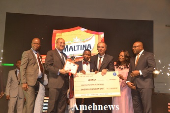 ARIGUZO EMERGES 2017 MALTINA TEACHER OF THE YEAR