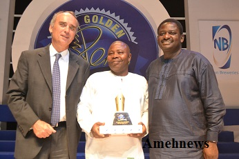 NIGERIAN BREWERIES REWARDS, CELEBRATES OUTSTANDING JOURNALISTS AT 9TH GOLDEN PEN AWARD