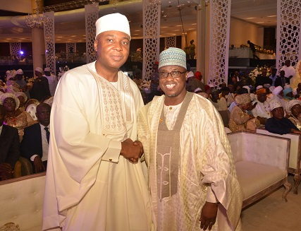 Baru at the Senate President Bukola Saraki's daughter wedding