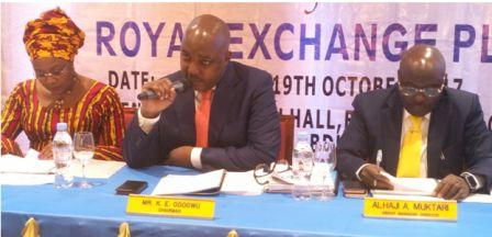Royal Exchange Getsthe National Insurance Commissionapproval to underwrite agric-business