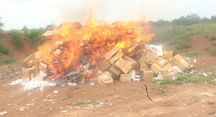 NAFDAC destroys N11.5m expired drugs in Niger