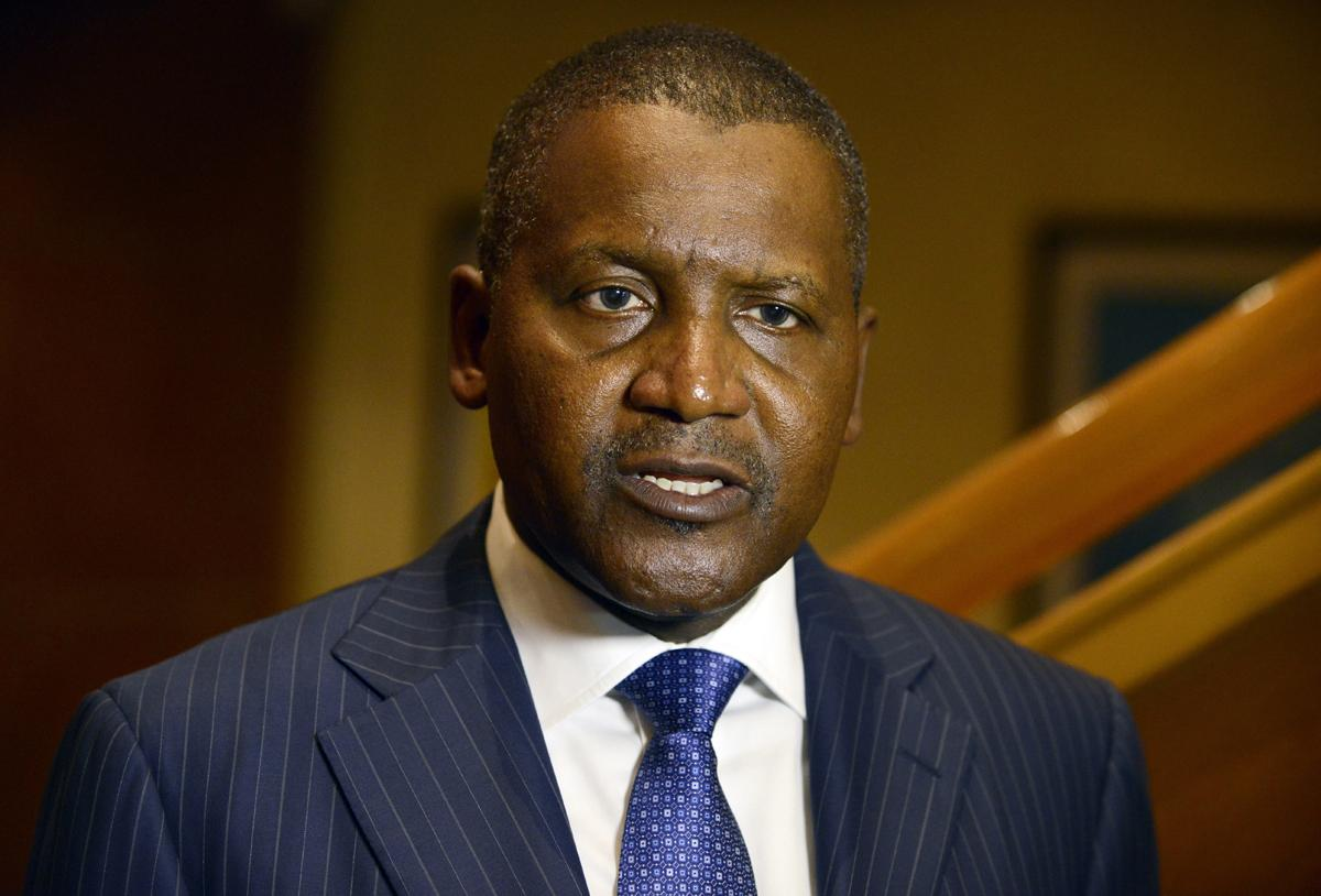 Dangote shares success story with foreign investors