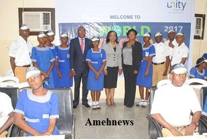 Unity Bank organizedFinancial Training for Ibadan Grammar School Students