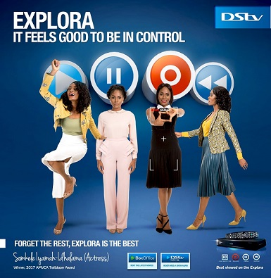 Exclusive: Somkele in a new DStv Explora commercial