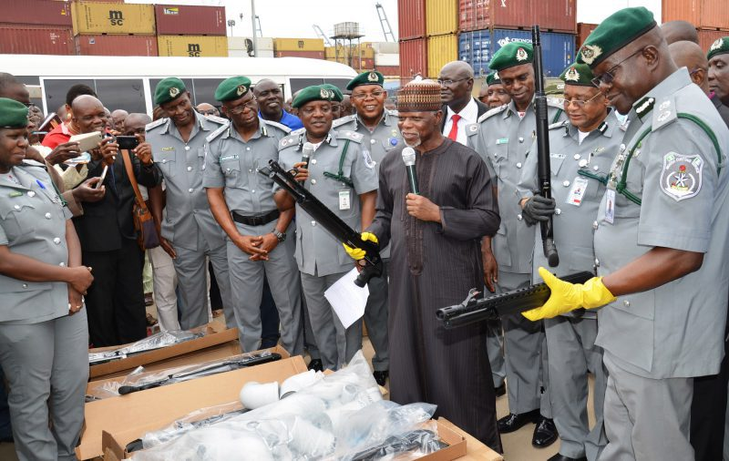 How shipping companies import illicit firearms into Nigeria - Customs boss