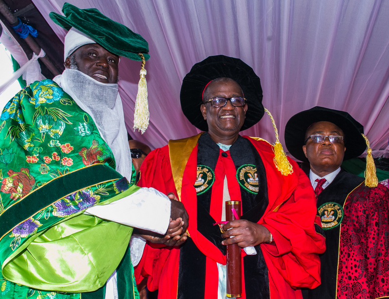 Oriental Energy Resources' Chairman, Dr. Alhaji Muhammadu Indimi Awarded Honorary Doctorate Degree by The University Of Uyo
