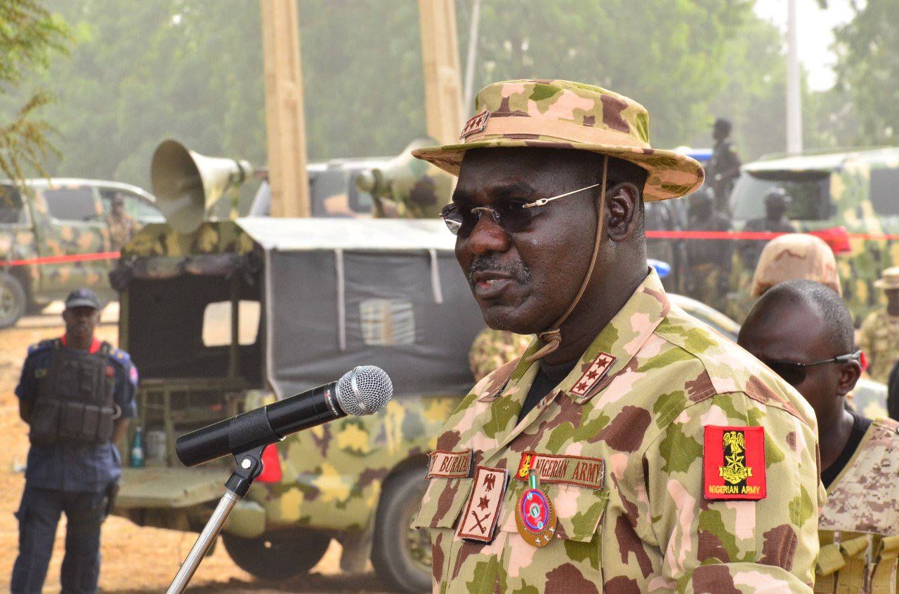Brace Up to Defeat Bandits, Buratai Tells Soldiers