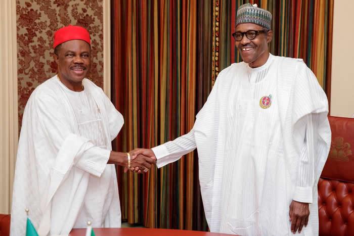 PHOTOS: Obiano visits Buhari