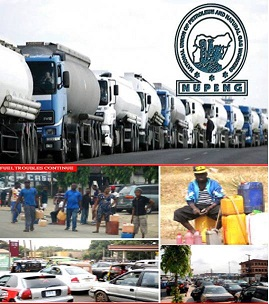 Fuel Scarcity Update:  NUPENG confirms massive loading of petrol at depots