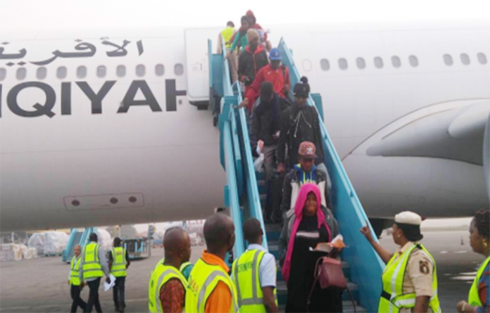 FG Commissions Med-View To Evacuate 5,037 Nigerians From Libya