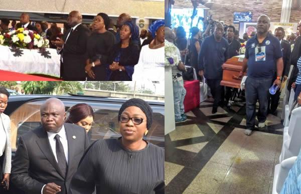 Tears, tributes as Lagos buries Deji Tinubu