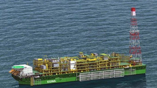 $3.3bn Floating Production Storage Offloading vessel Arrives In Nigeria Tuesday