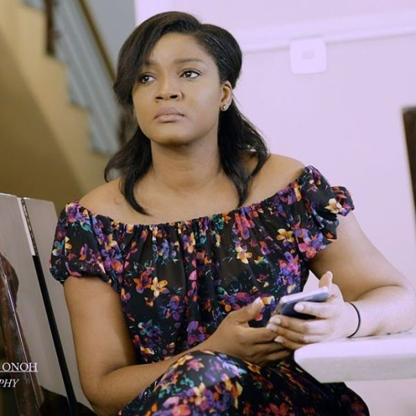 Even if mum's phone is beside her, she'll still call me to bring it — Omotola Jalade-Ekeinde's son