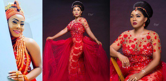 Red dress controversy: Mercy Aigbe breaks silence