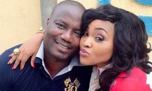 Why I was absent at Mercy Aigbe's birthday –Husband