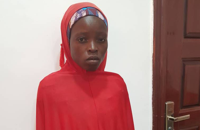 Army hand over rescued Chibok girl to Borno govt