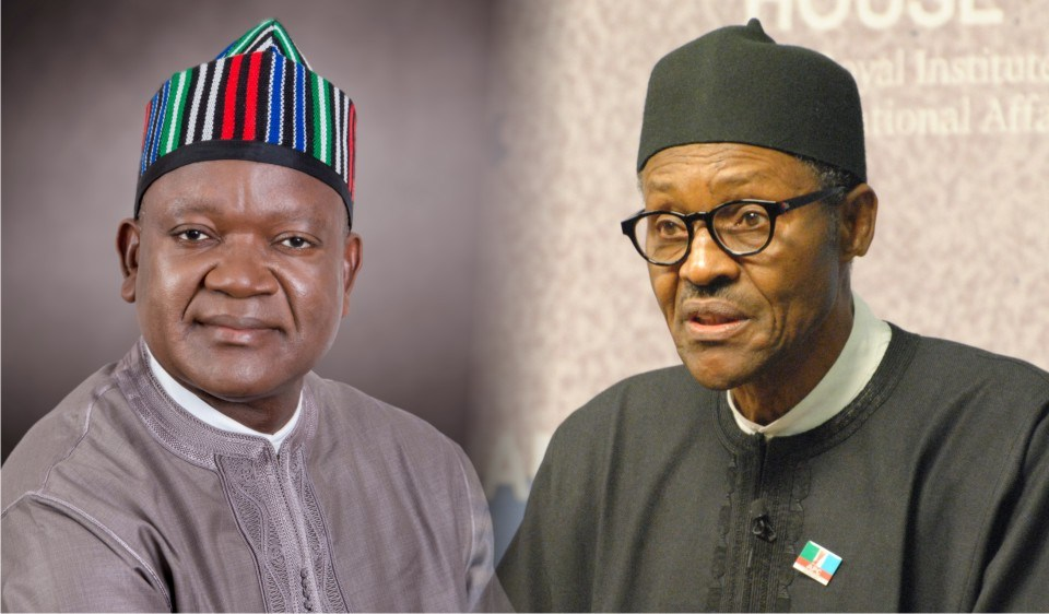 Benue killings: Buhari, Ortom meet inside Aso Rock