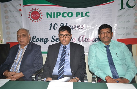 NIPCO Plc Rewards Harjeet Tuteja; Sanjay Teotia and Suresh Kumar for Long Service Award