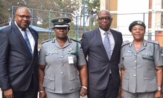NIGERIA CUSTOMS SERVICE PAYS COURTESY VISIT TO NIGERIAN BREWERIES PLC