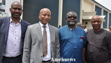 House Committee On Banking, Currency Pays Visit To Arik Air Management