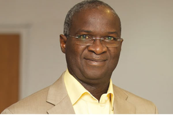 Ease hardship on road users, Fashola urges contractors