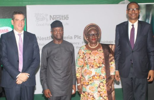 Osinbajo inaugurates Nestle's Milo Ready-to-Drink N4.1bn beverage plant