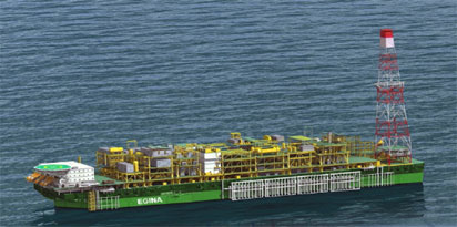 From $16bn Egina project: Nigeria to export 1m barrels worth $67 m of first oil in January, 2019
