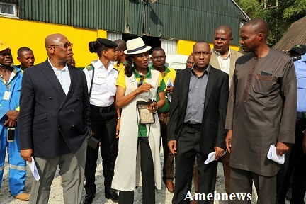 NPA COMMISSIONS SIGNAL STATION AT THE CALABAR PORT