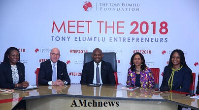 2018 Tony Elumelu Foundation:  1000 Entrepreneurs Makes The List