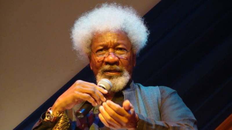 Schoolgirls abduction: Soyinka flays Buhari for attending Ganduje daughter's wedding