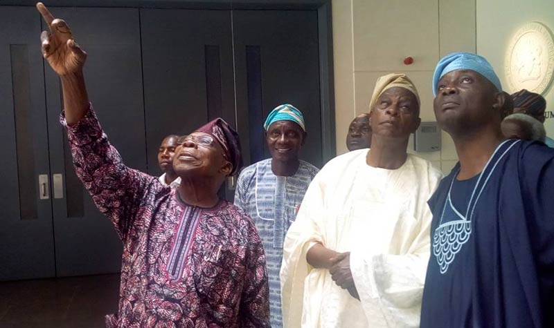 Falae visits Obasanjo, says Buhari has failed