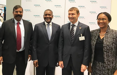 DANGOTE GROUP EXECUTIVE DELEGATION IN HANNOVER, GERMANY