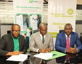 NSE promotes Earth Day, signs Corporate Recycling MoU with Recycle Points Limited