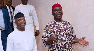 Ekweremadu Holds Meeting With Osinbajo After Senate Invasion