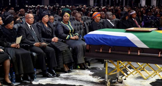 South Africa buries Winnie Mandela