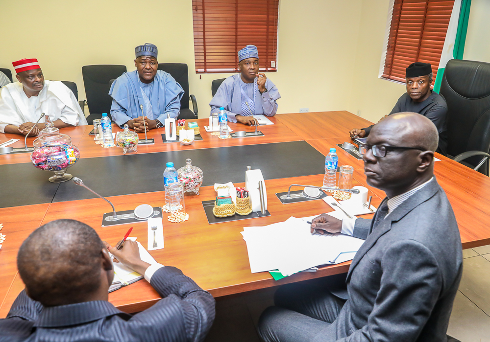 nPDP members meet Osinbajo, say it's too early to talk about quitting