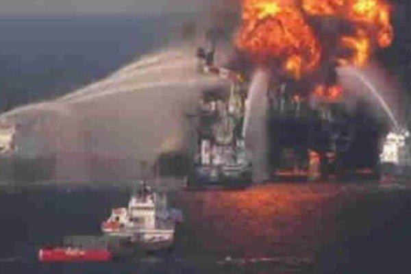 Fire Razes ConOil Drilling Platform